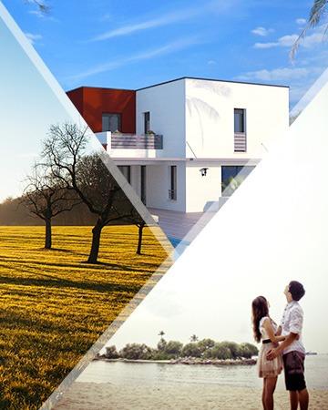 Découvrez nos offres de terrains + maisons