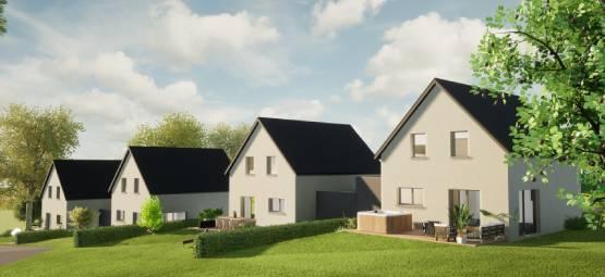 6 maisons neuves à Alteckendorf