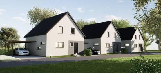 3 maisons neuves à Roeschwoog