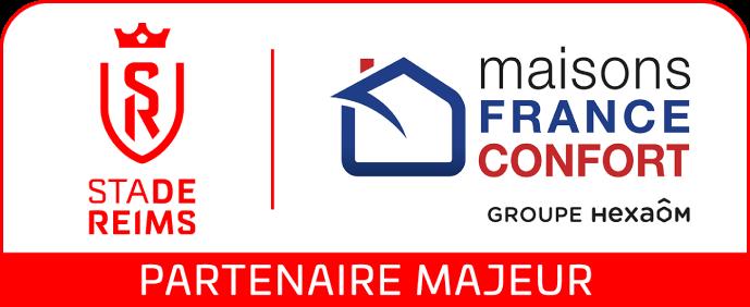 Maisons France Confort, partenaire du Stade de Reims