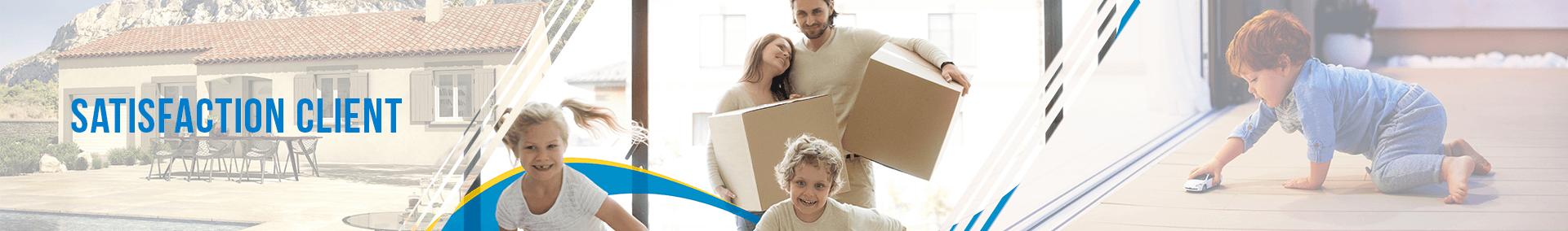 La satisfaction client avec Azur & Constructions