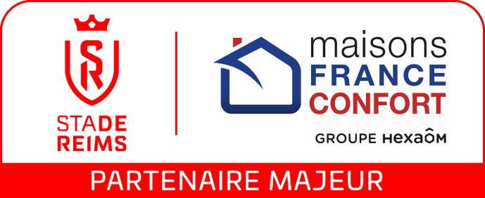 Maisons France Confort, partenaire du Stade de Reims