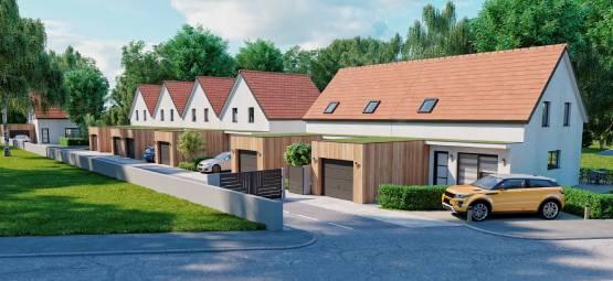 7 maisons neuves à Ammerschwihr