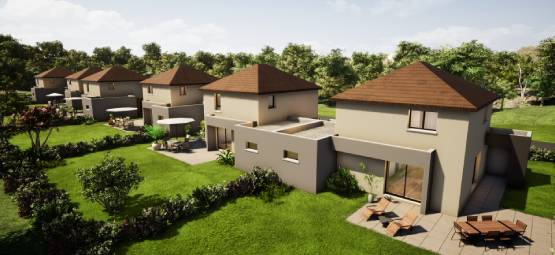 6 maisons RT2012 à Montbeliard