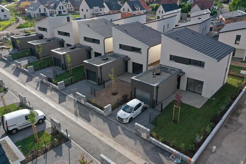 Maisons en bande à Duppigheim