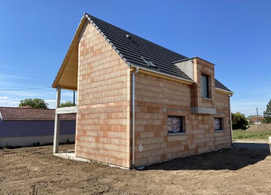 Réalisation d'une maison de 120² à Logelheim