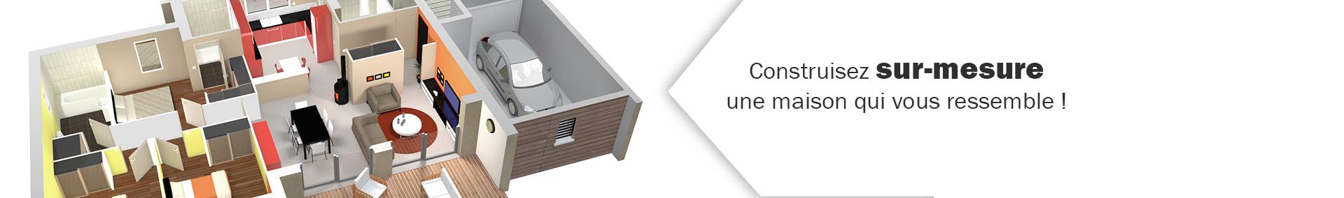 Réalisez votre projet de construction sur mesure avec Maisons Bruno Petit